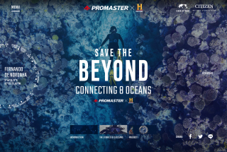 Save the BEYOND – Connecting 8 Oceans | PROMASTER キャンペーンサイト [シチズン腕時計]